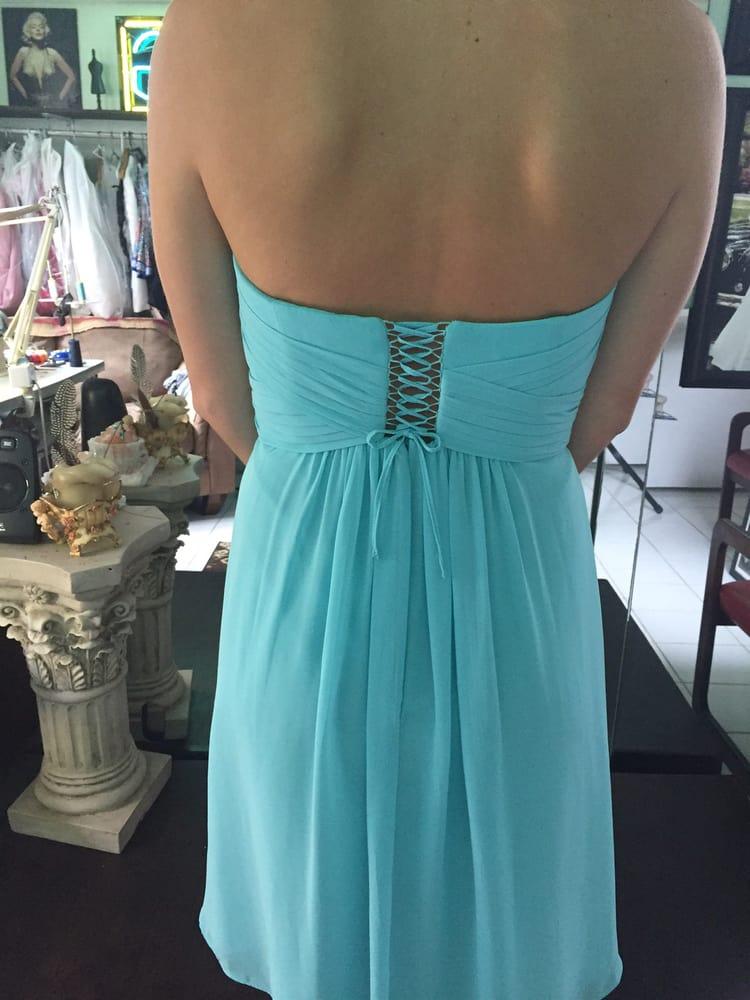 wrong dress size