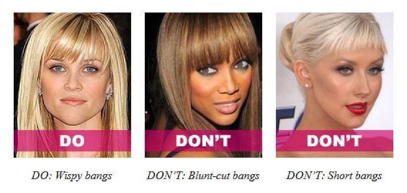 Bang hairstyle