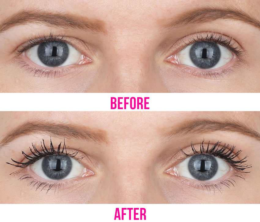 Before-after-mascara