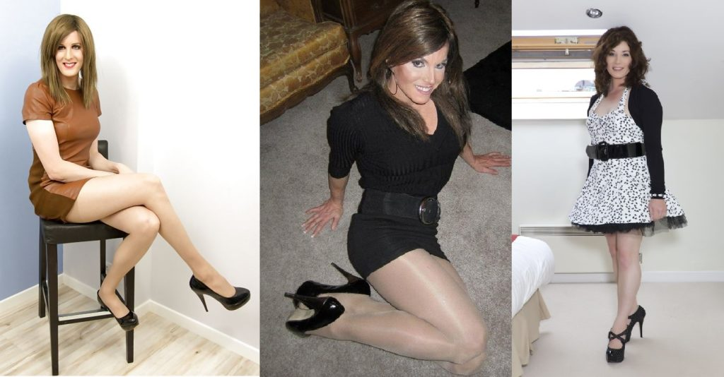 Photos of mature crossdressers
