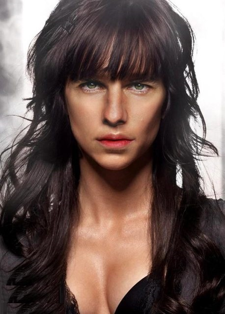 Tom Cruise as woman