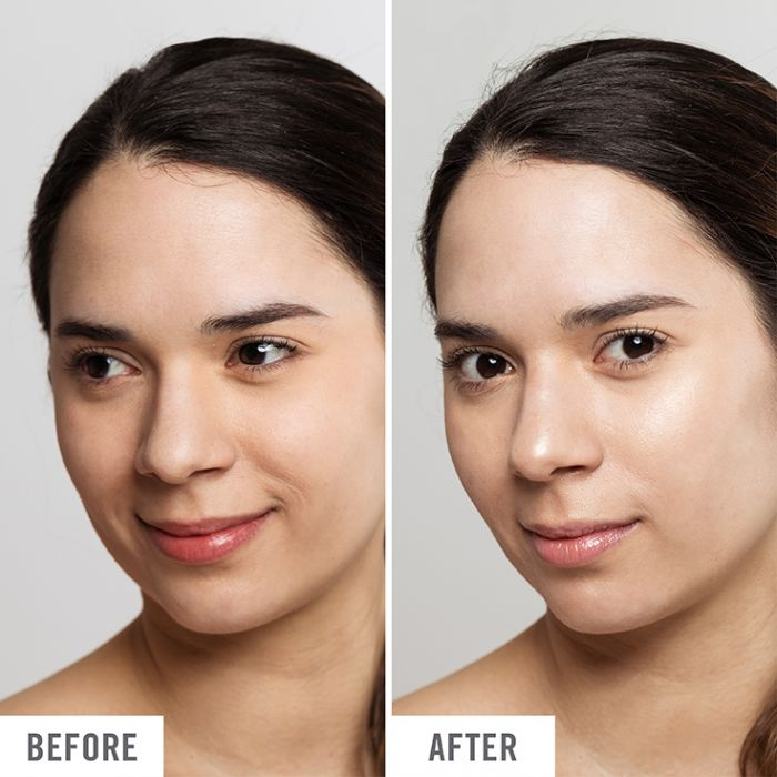 moisturizer before and after