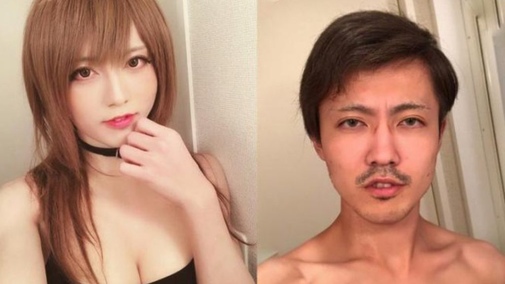 Famous Japanese female cosplayer turns out to be a male crossdresser