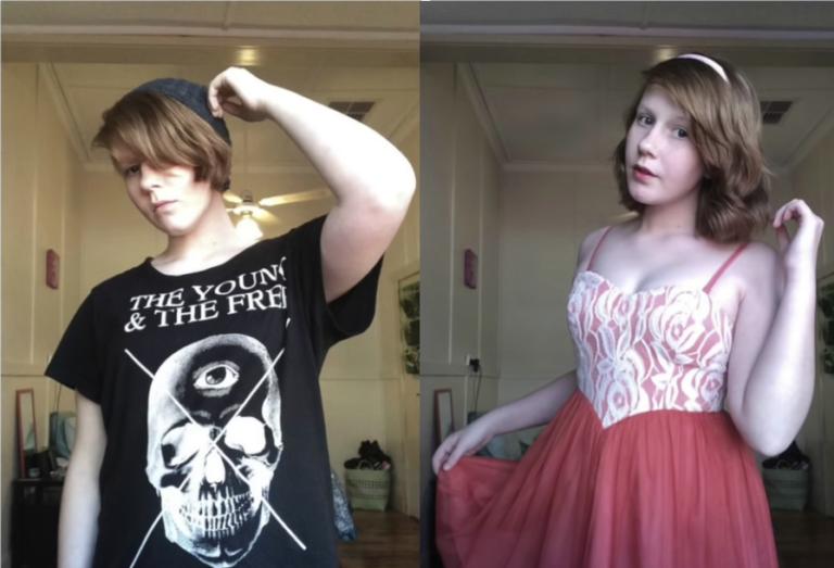 boy to girl full body transformation