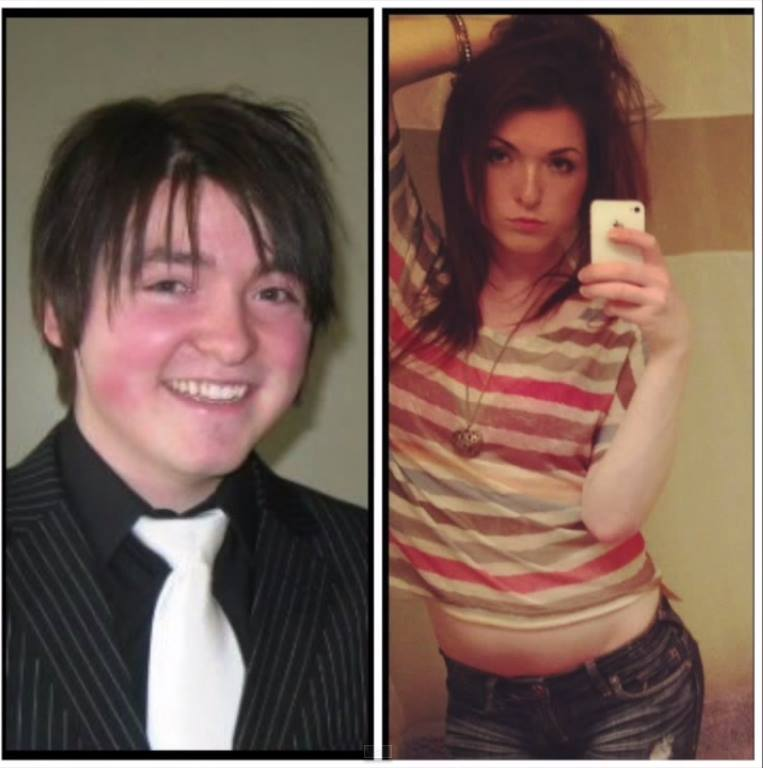 boy to girl full body transformation