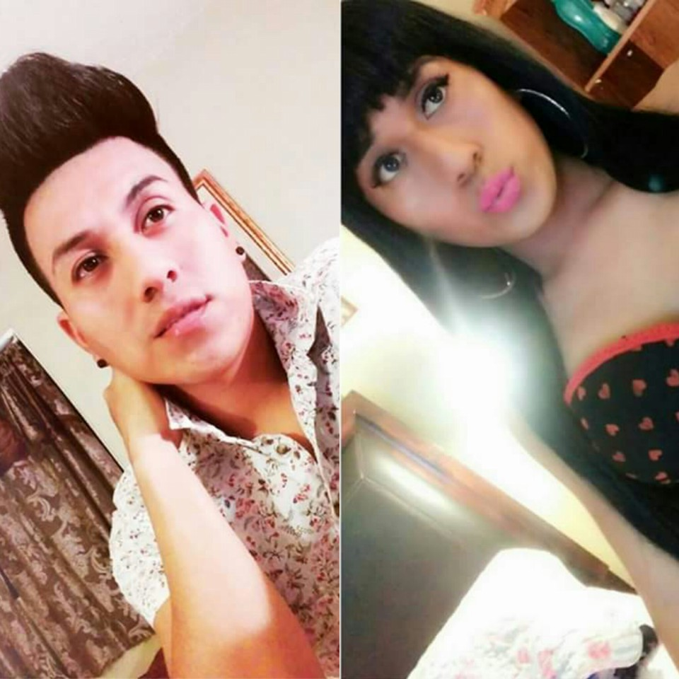 boy to girl makeup transformation