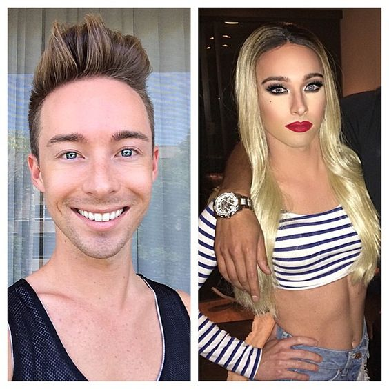 boy to girl transformation