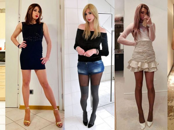 Very Passable Male to Female Crossdressers