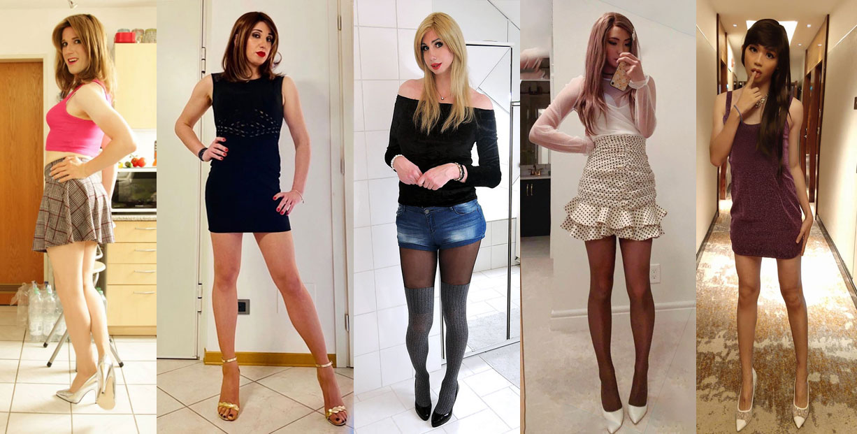Very Passable Male to Female Crossdressers