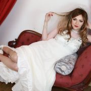 Crossdressing in wedding dress