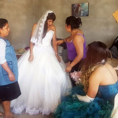 Boy Transformed into Beautiful Bride