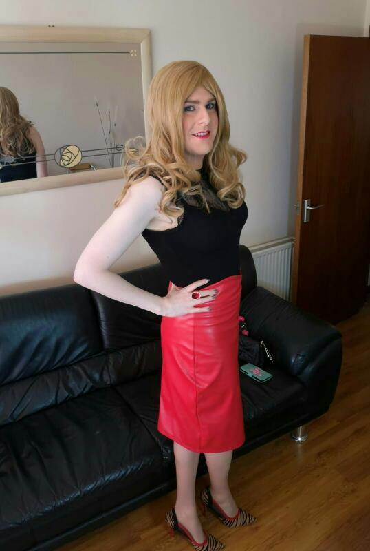 Chrissy crossdressing