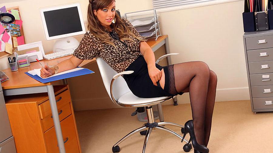Crossdressing in the Office