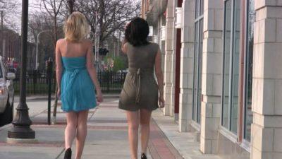 Crossdressing in Public with a friend