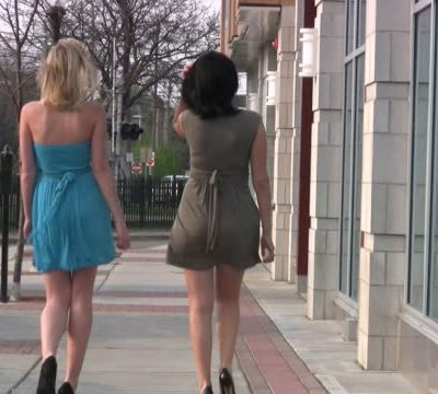 Crossdressing in Public with a friend