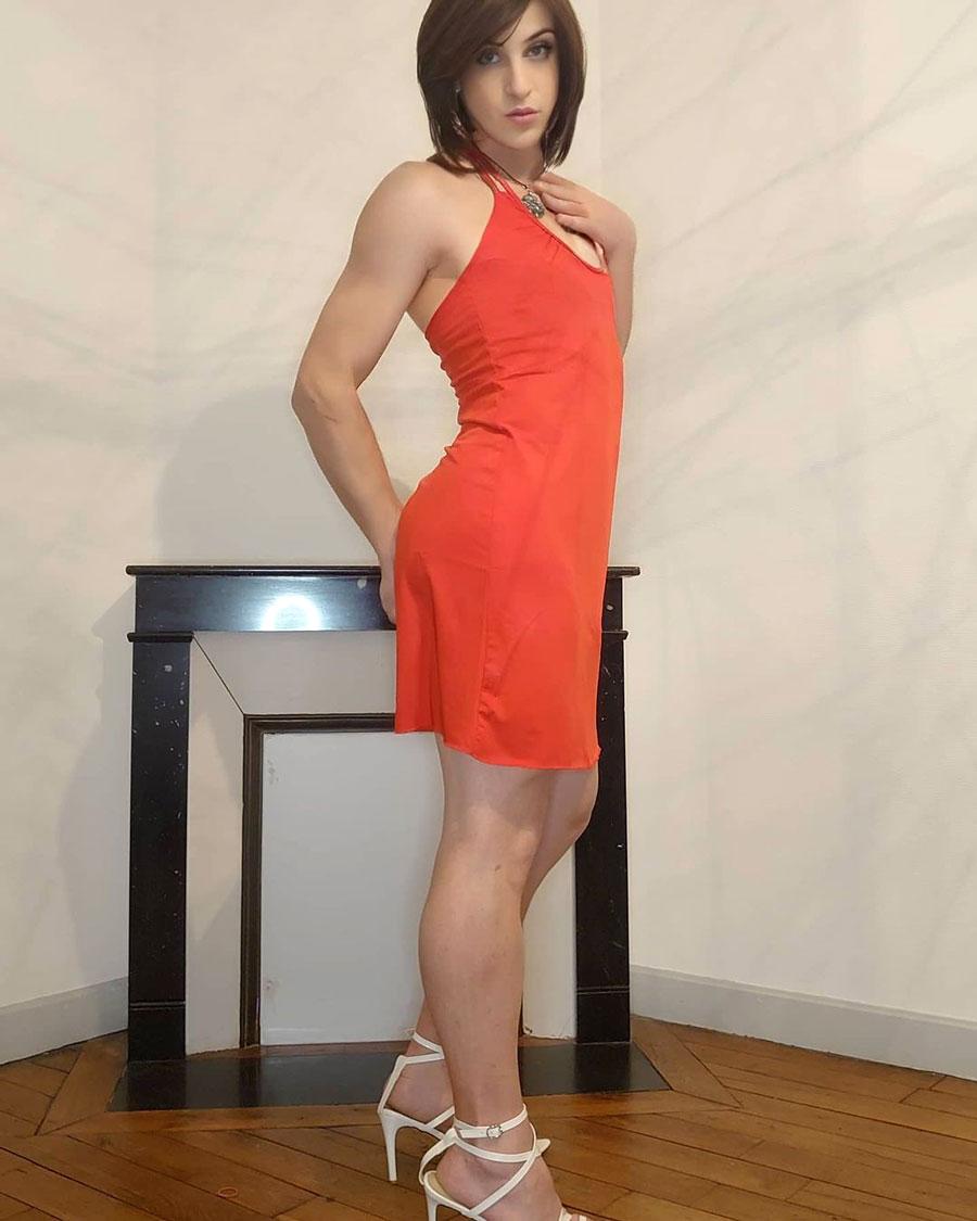Crossdresser Felicia