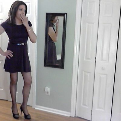 Caught Wearing Wife's Dress