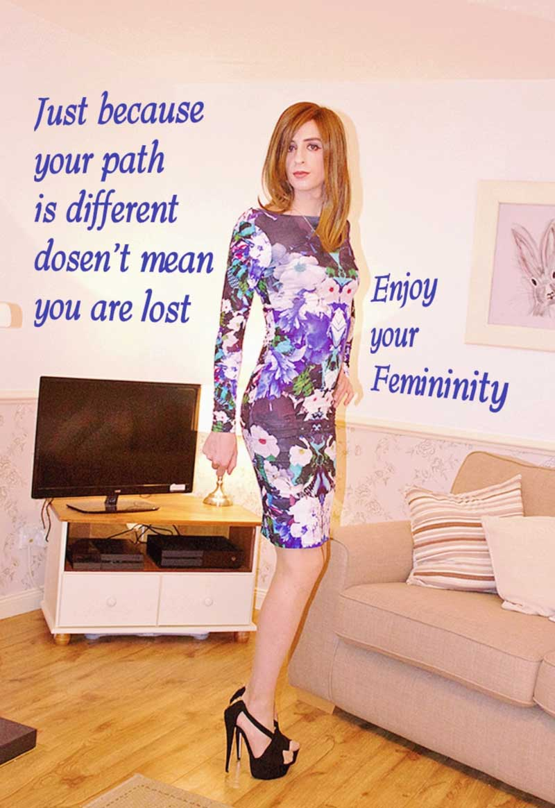 Bring out the women in you with these powerful feminization captions. Unleash Your Feminine Side - CD Captions
