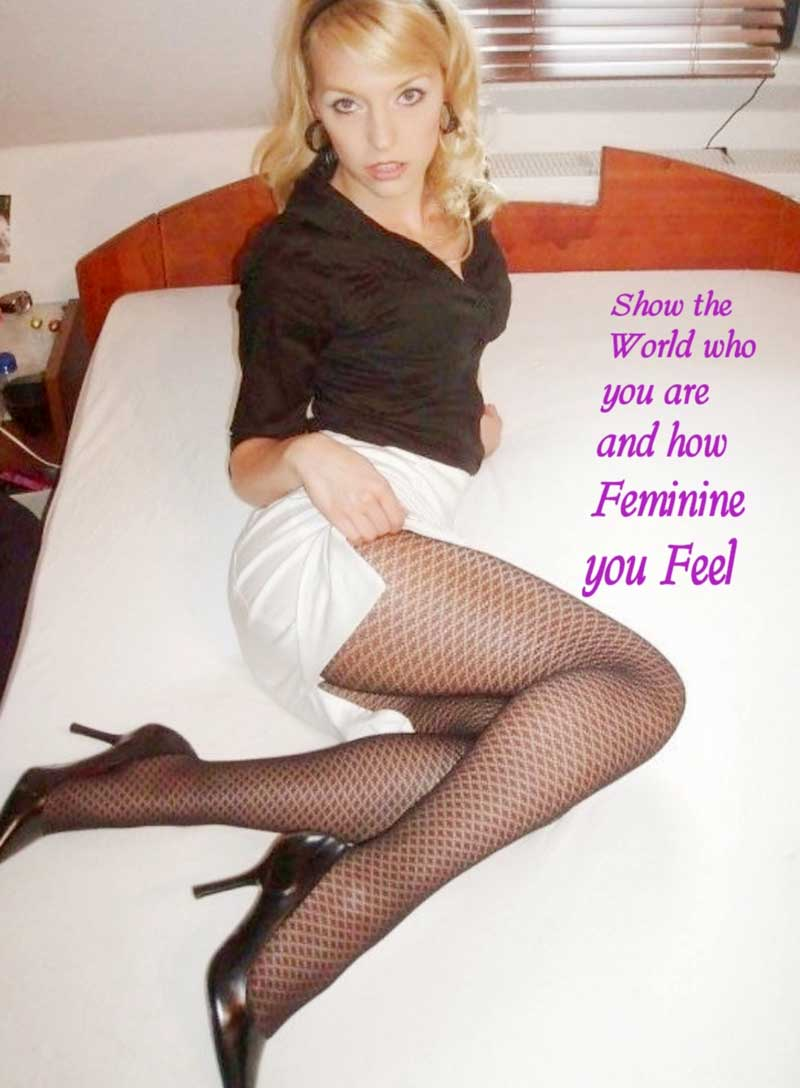Bring out the women in you with these powerful feminization captions. Unleash Your Feminine Side - CD Captions..