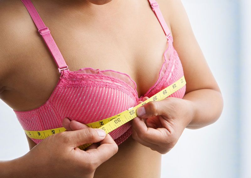 how to measure bust size