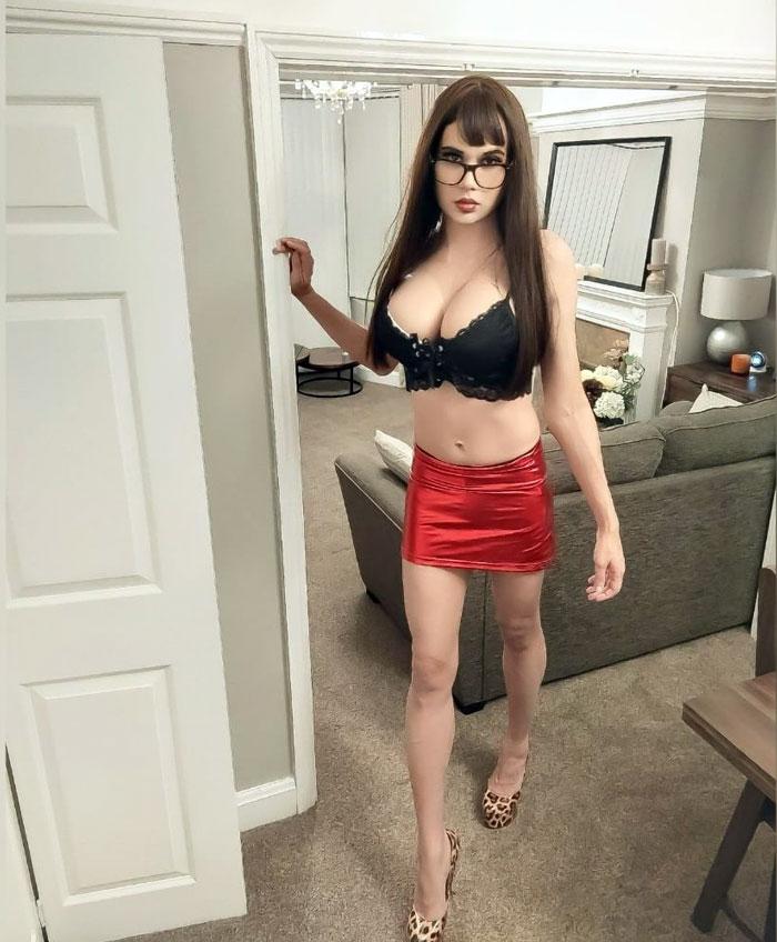 Crossdresser Kayla