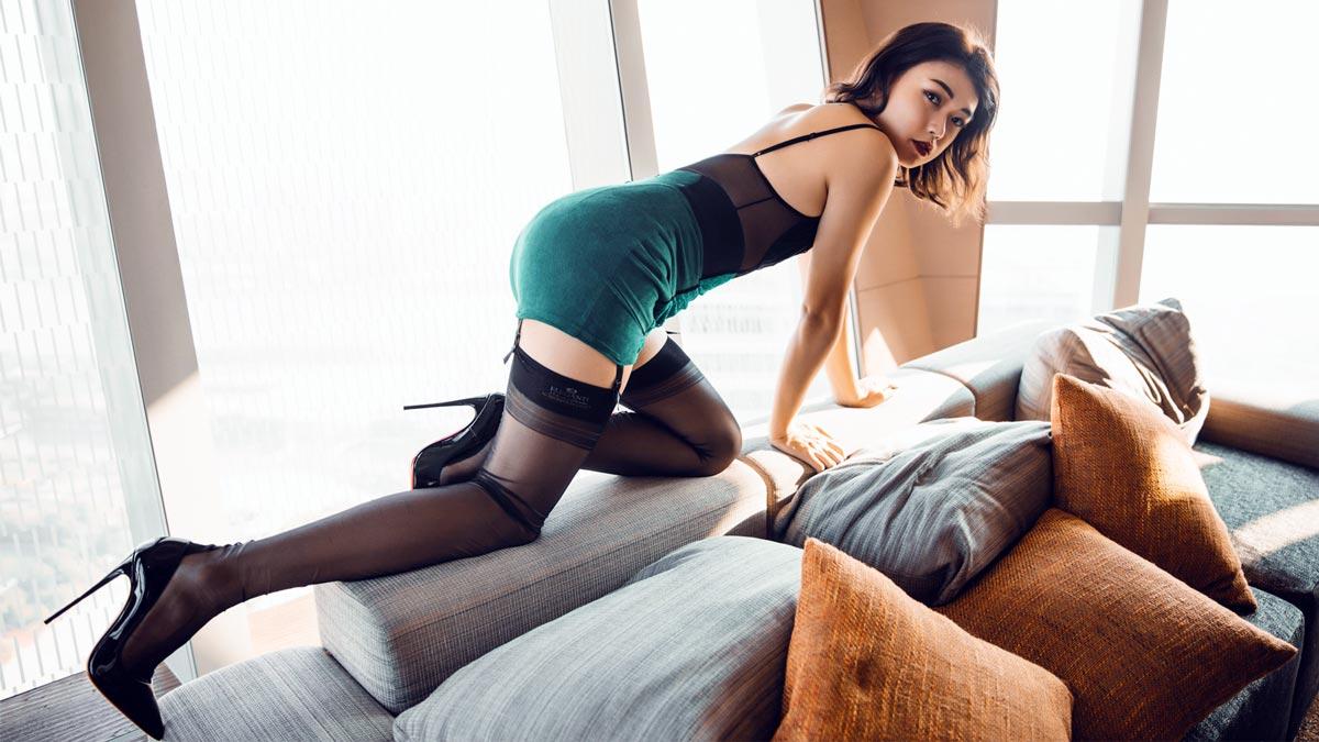 Beautiful crossdresser from china