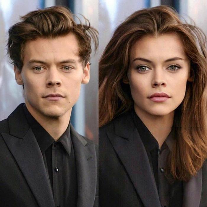Harry Styles as Woman