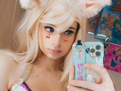 Cute Cosplayer Peach