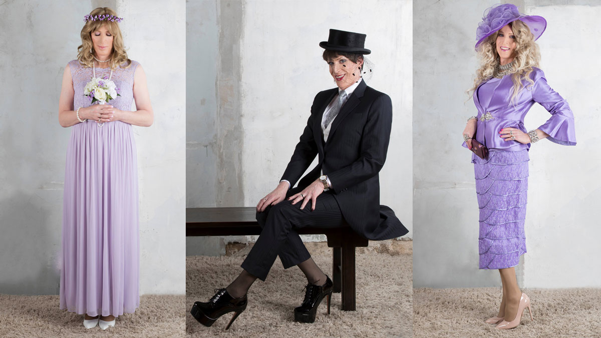 Crossdressing in wedding theme